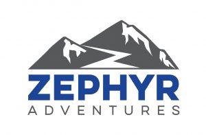 zephyr adventures logo stacked